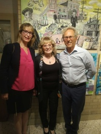 Ellen Scheinberg, Dorion Liebgott and Ian Leventhal